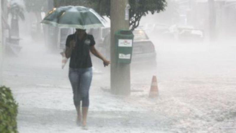 Choveu pedras no interior de Sergipe
