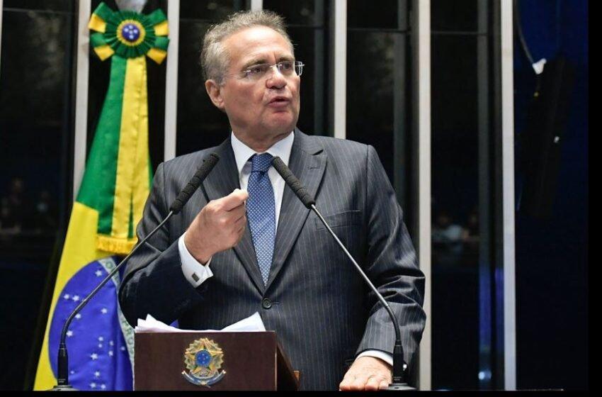 Renam afastado da relatoria da CPI: liminar da Justiça Federal suspendeu indicação do senador