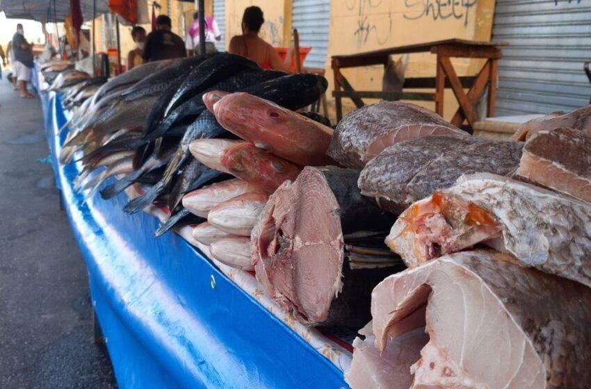 SEXTA-FEIRA SANTA: Tradição leva consumidores à compra de pescados em Tobias Barreto