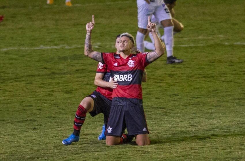 Cariocão: com dois gols de Pedro Flamengo empata com a Portuguesa