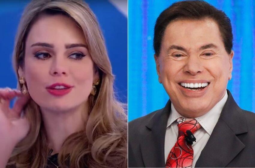 Colunista diz que Rachel Sheherazade acusa Silvio Santos de assédio e censura