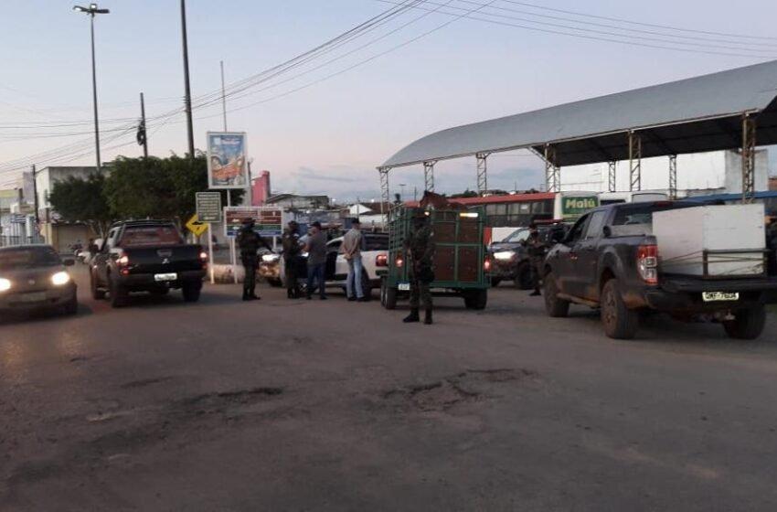 Polícia Militar reforçou o policiamento durante o fim de semana