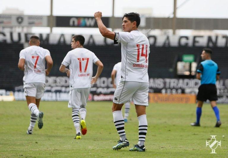 Vasco vence o Botafogo e joga por um empate no duelo de volta da final da Taça Rio