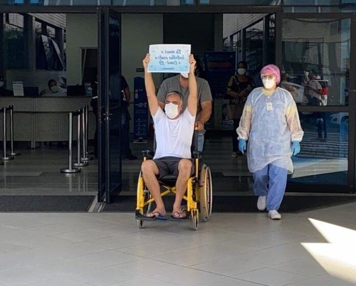 Deputado federal Fábio Reis recebe alta de hospital