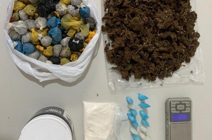 Operação conjunta prende homem por tráfico de drogas em Tobias Barreto