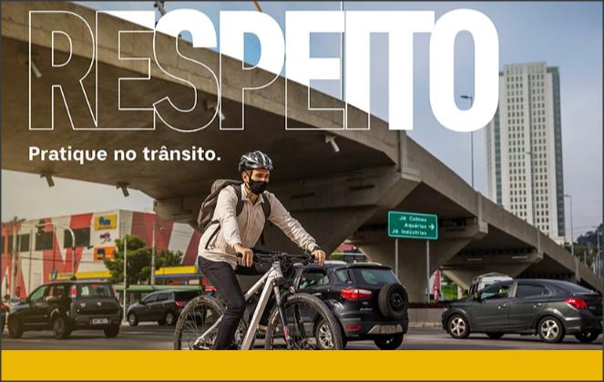 Campanha Maio Amarelo 2021 pede respeito e responsabilidade no trânsito
