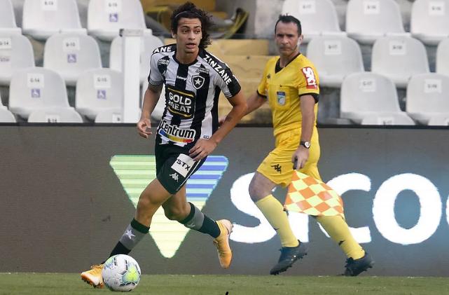 Botafogo rejeita oferta de 23 milhões de euros por Matheus Nascimento
