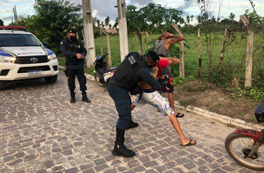 Cristinápolis recebe reforço da Polícia Militar da Força Tática do 11° Batalhão.