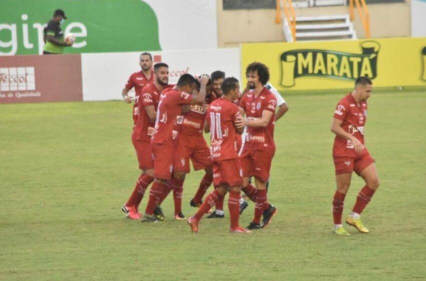 Sergipe derrota o Lagarto na primeira partida da final do Sergipão 2021