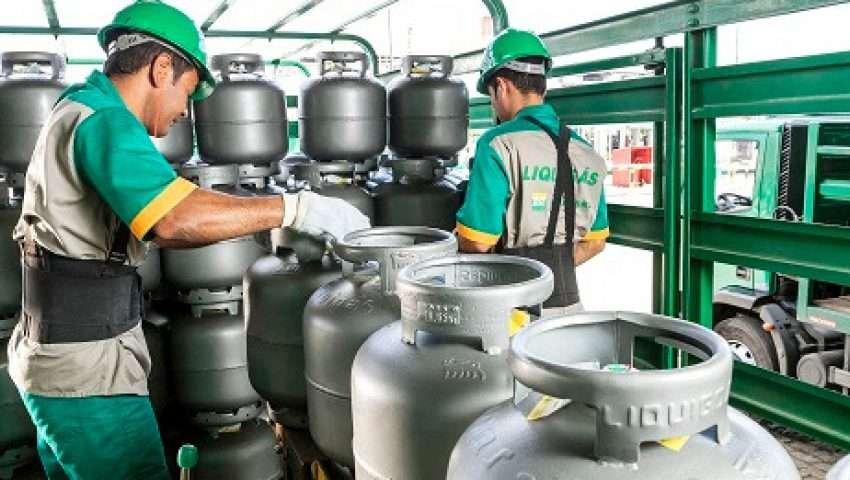 Gás de cozinha custa R$85,00 em Tobias Barreto