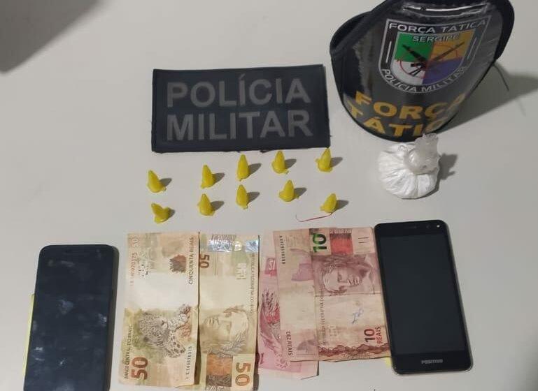 PM prende traficante durante Operação Narco em Tobias Barreto.