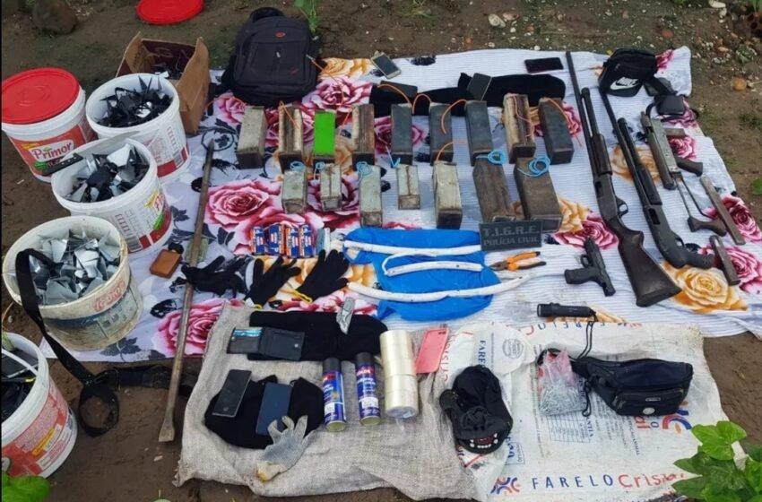 #OperaçãoSergipeAlagoas 7 bandidos morreram na troca de tiros com Policiais Militares do 11° Batalhão