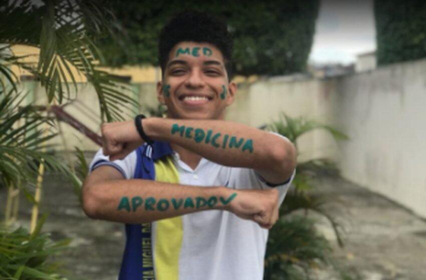 Jovem de ascendência quilombola em Sergipe conquista 1º lugar em medicina
