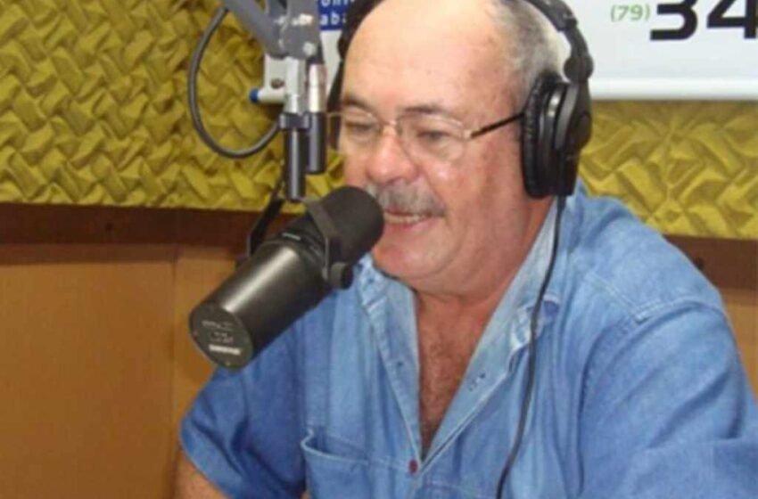 Radialista Francis de Andrade de 61 anos é intubado para tratamento do coronavírus