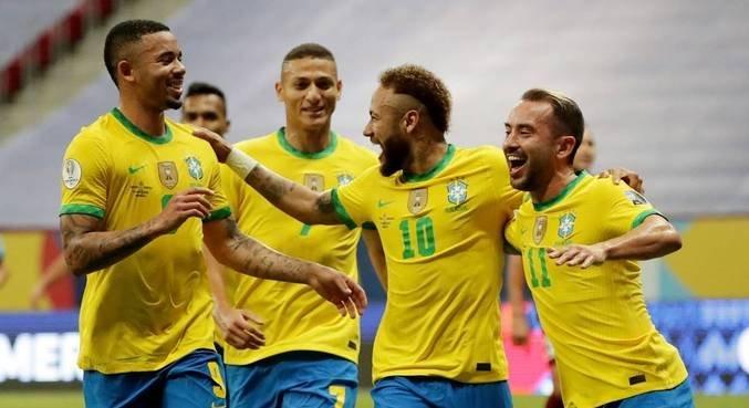 #CopaAmérica   Brasil vence a Venezuela por 3 a 0 na estreia