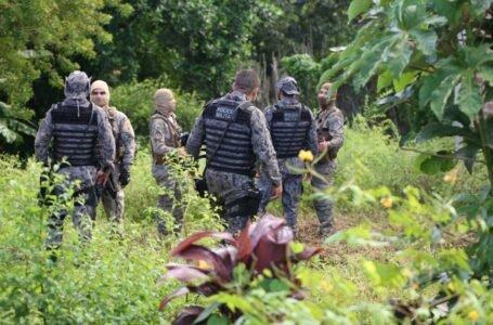 Polícia deflagra ação de combate a homicídios e tráfico de drogas em Estância — Foto: Divulgação/SSP