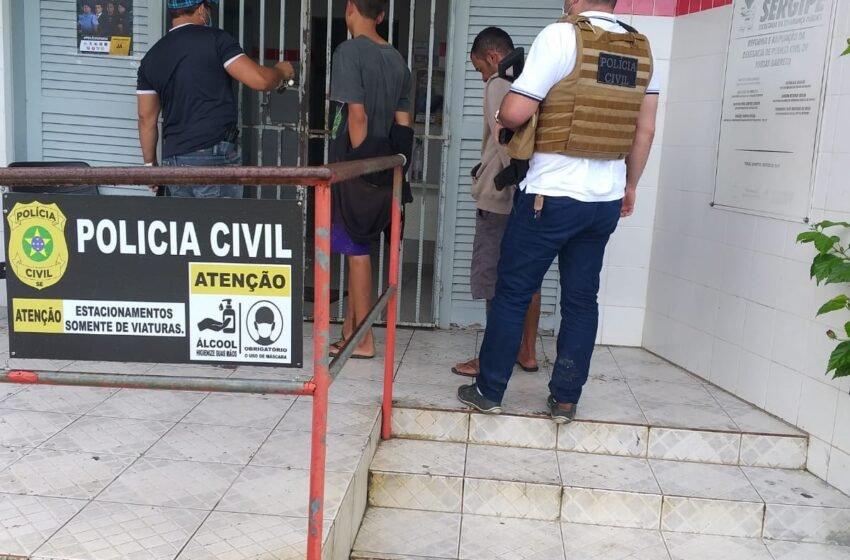 Polícia Civil fecha ponto de venda de drogas em Tobias Barreto.