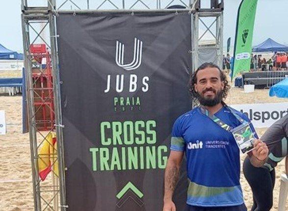 Estudante de Educação Física lidera ranking do Cross Training no JUBs Praia