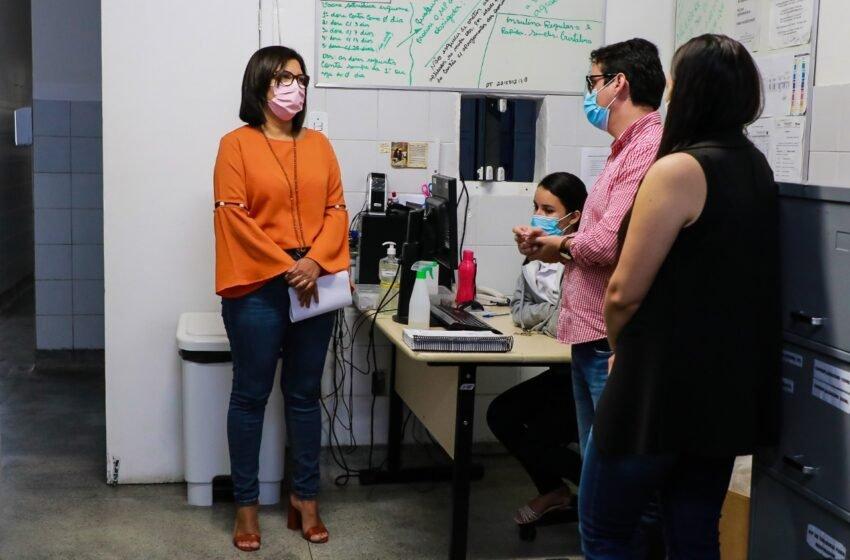Após ação do MP, Secretária da Saúde realiza visita técnica à UPA São Vicente de Paulo