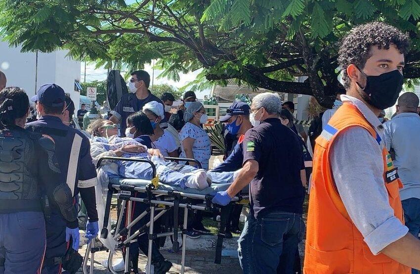 Incêndio no Nestor Piva: hospital não tinha licença do Corpo do Bombeiros