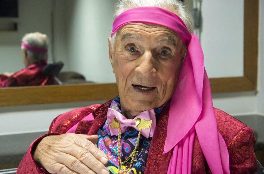 Morre Orlando Drummond, o 'Seu Peru', aos 101 anos