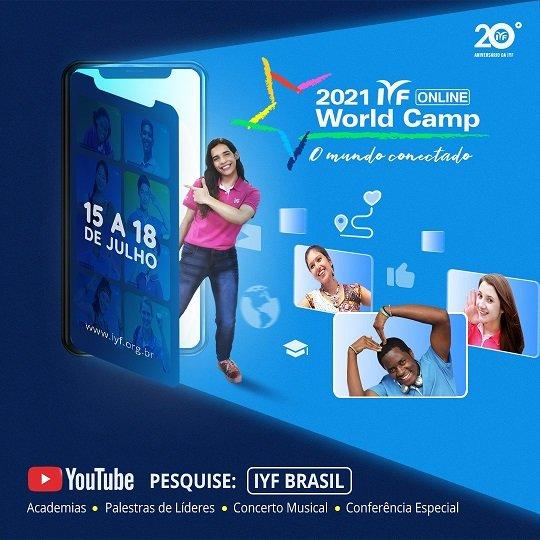 23ª Edição doIYF World Culture Camp será apresentada pelo segundo ano consecutivo na modalidade on-line