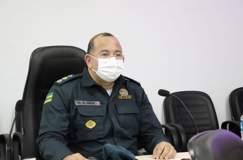 Comandante do 11° Batalhão vai à câmara de vereadores de Tobias Barreto