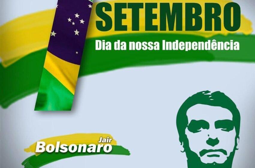 2ª Independência do Brasil, se não for assim, nossa liberdade já era!