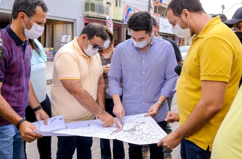 TOBIAS BARRETO: Mais de 2 milhões para a construção do calçadão