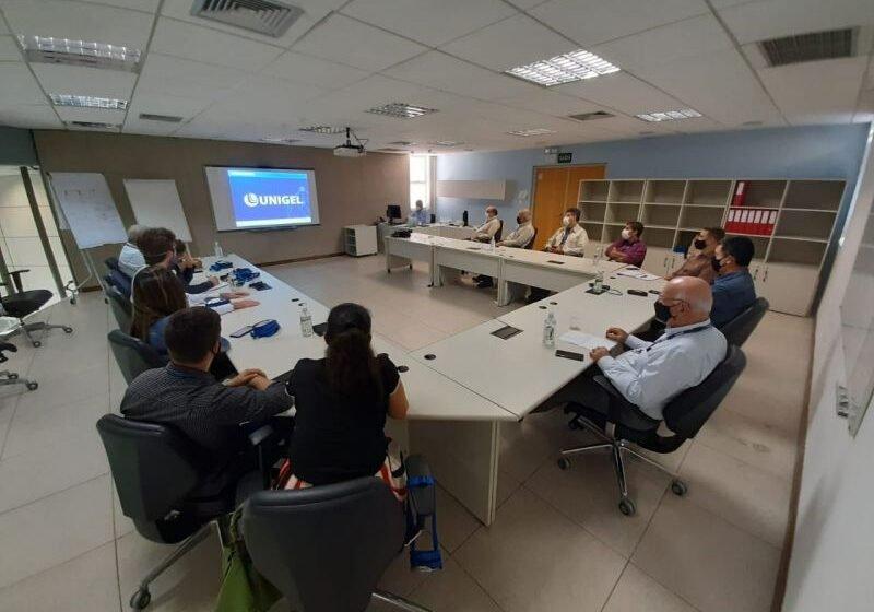 ITP, Unit e Unigel estreitam relações e discutem cooperação técnica e de serviço
