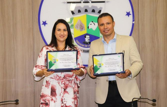 Promotor de Justiça de Sergipe recebe título de cidadão Tobiense