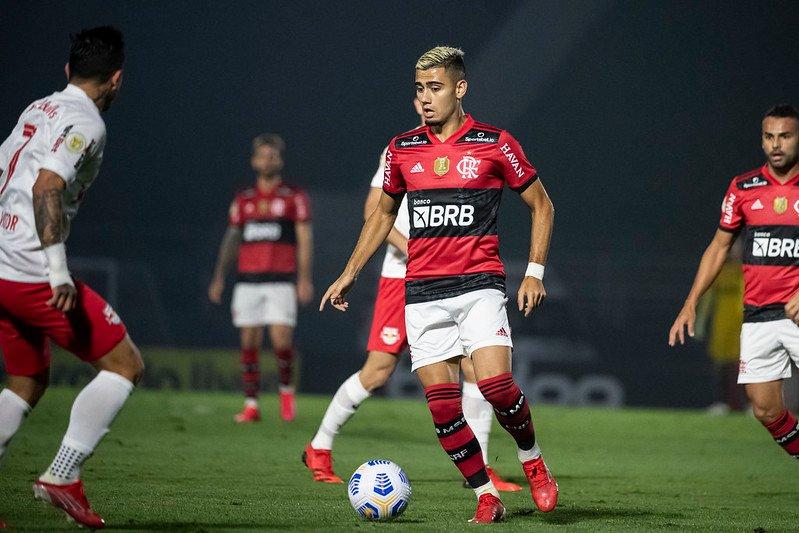 Flamengo apenas empata com o Bragantino